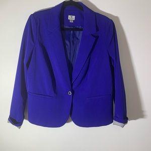 Worthinghton Plus size Colbalt Blue Blazer 1X